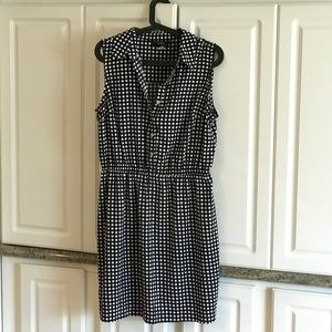 ALFANI Black & White Dress